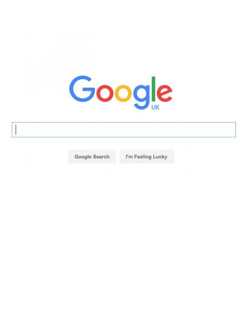 New Google Logo Typeface